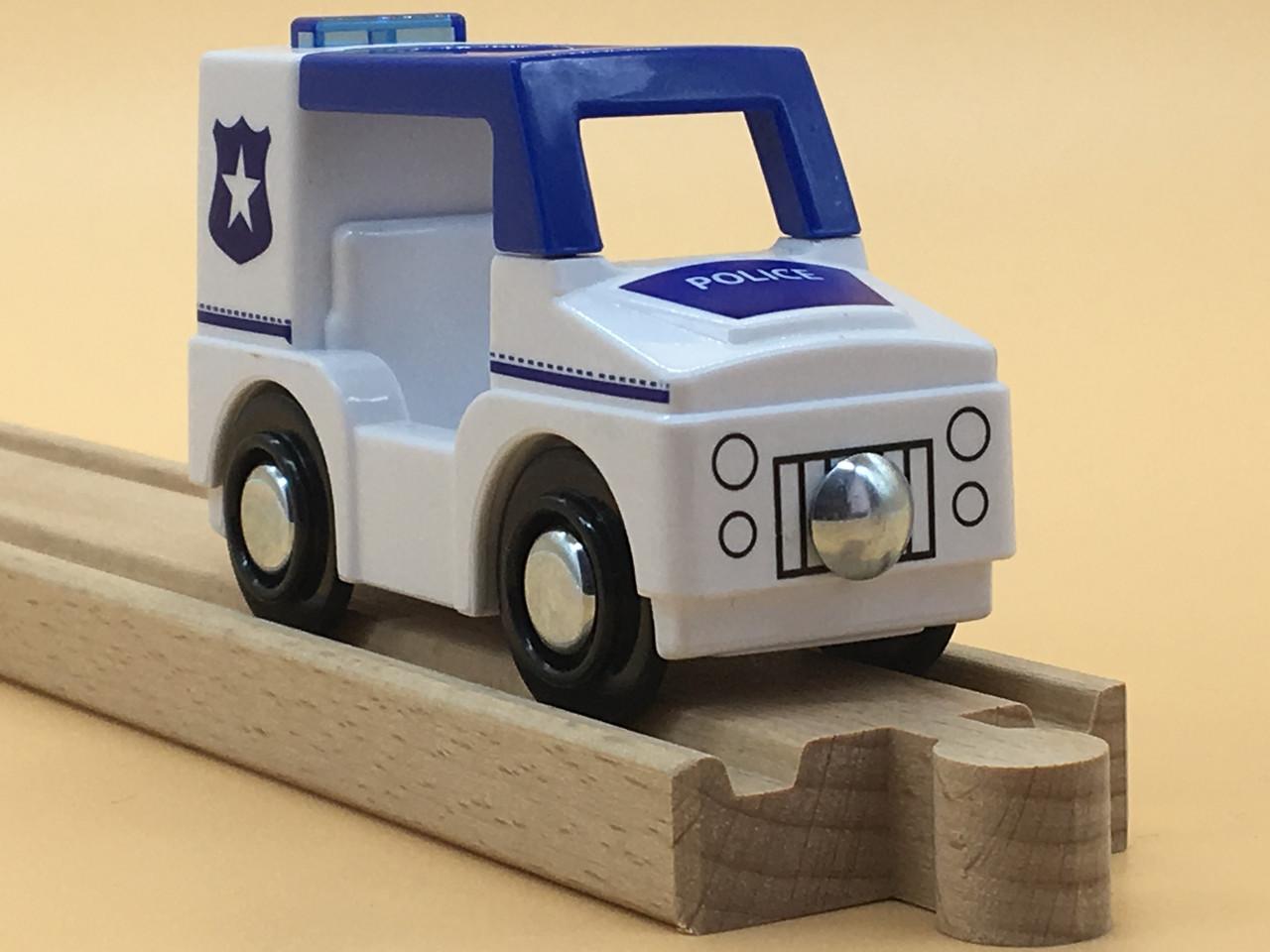 Машинка для дерев'яної залізниці PlayTive Junior Polizei Німеччина