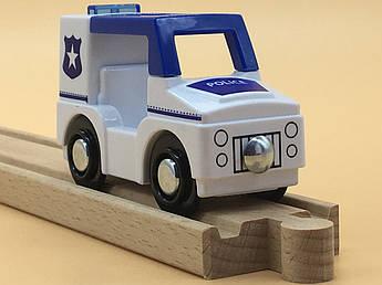 Машинка для деревянной железной дороги PlayTive Junior Polizei Германия