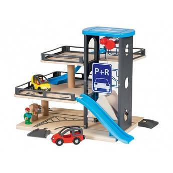 Набор паркинг для деревянной железной дороги Parking PlayTive Германия