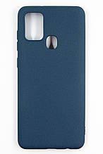 Панель DENGOS Carbon для Samsung Galaxy A21s (blue)