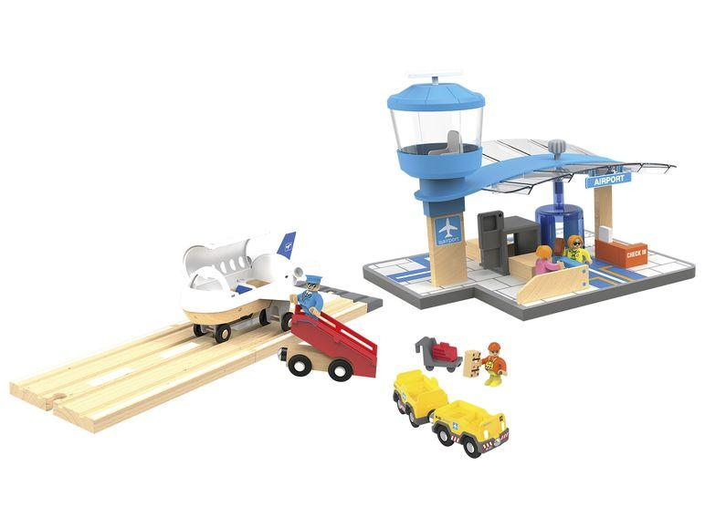 Набор Аэропорт для деревянной железной дороги Playtive Junior Германия