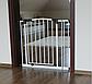 Детские ворота безопасности Maxigate (73-82см) Высота 107 см, фото 4