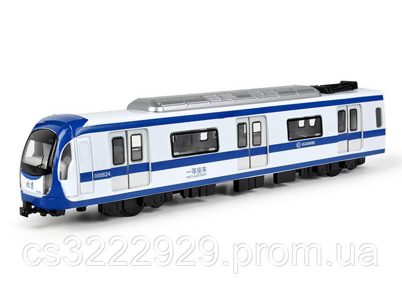 Металлический поезд MS1525N (Синий)
