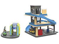Парковка для деревянной железной дороги Playtive Германия (Ikea Lillabo, Viga Toys, Brio)