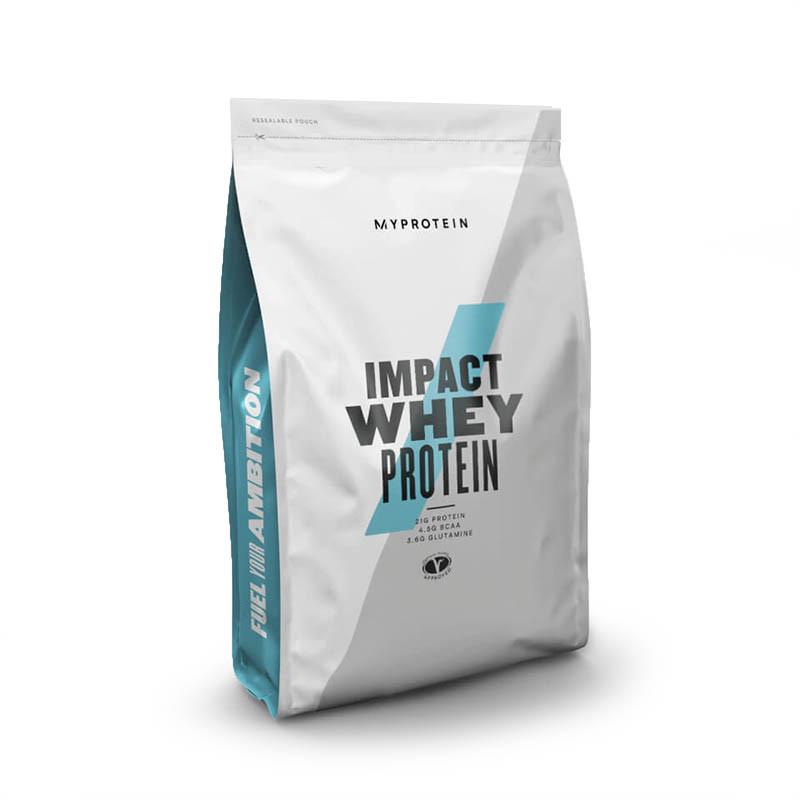 Протеин MyProtein Impact Whey Protein, 2.5 кг Натуральная клубника