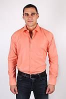Рубашка мужская оранжевая на рост 176-182 Kongres KV-396-1
