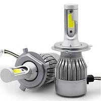 Комплект автомобільних LED ламп C6 H4
