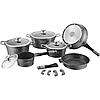 Набор посуды Royalty Line RL ES-1014M silver 14 pcs