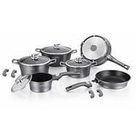 Набор посуды Royalty Line RL-ES2014M silver