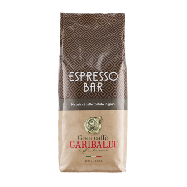 Зерновий кави Гарібальді Еспрессо Бар 1 кг