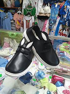 Шкільні Туфлі сліпони для дівчинки устілка 18 19 20см