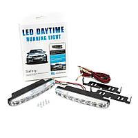 Фара DRL 8 LED ДХО DR-2 030 | Дневные ходовые огни Led Daytime Running Light ЗА 2 ШТ