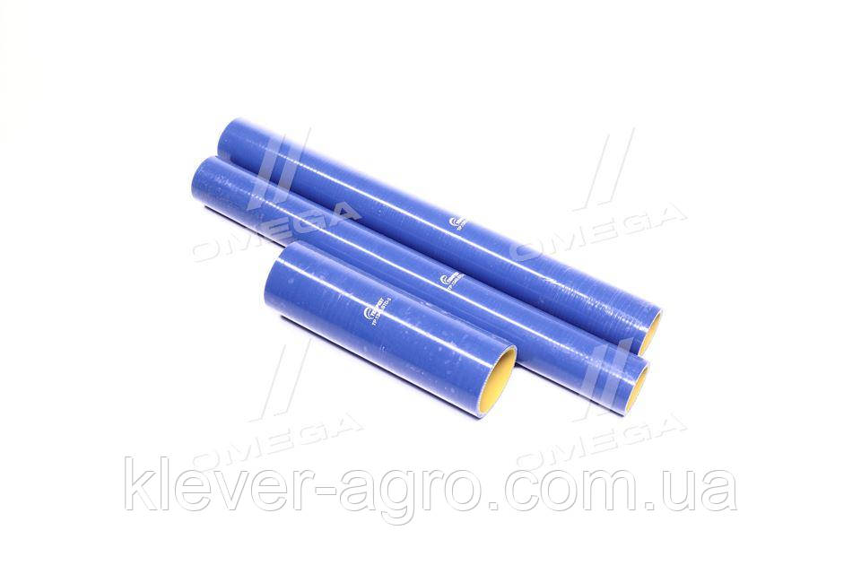 Патрубок радиатора КрАЗ 6437, 6510 (компл. 3 шт. силикон) STANDARD (TEMPEST)