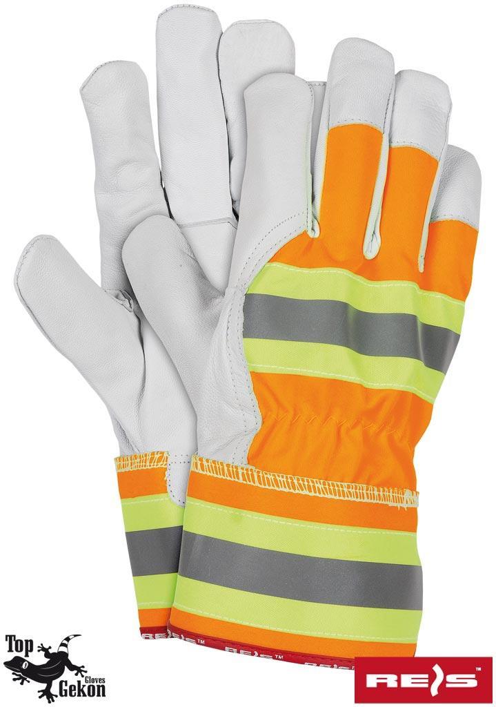 Перчатки рабочие кожаные утепленные REIS Польша RLVIS PYSW