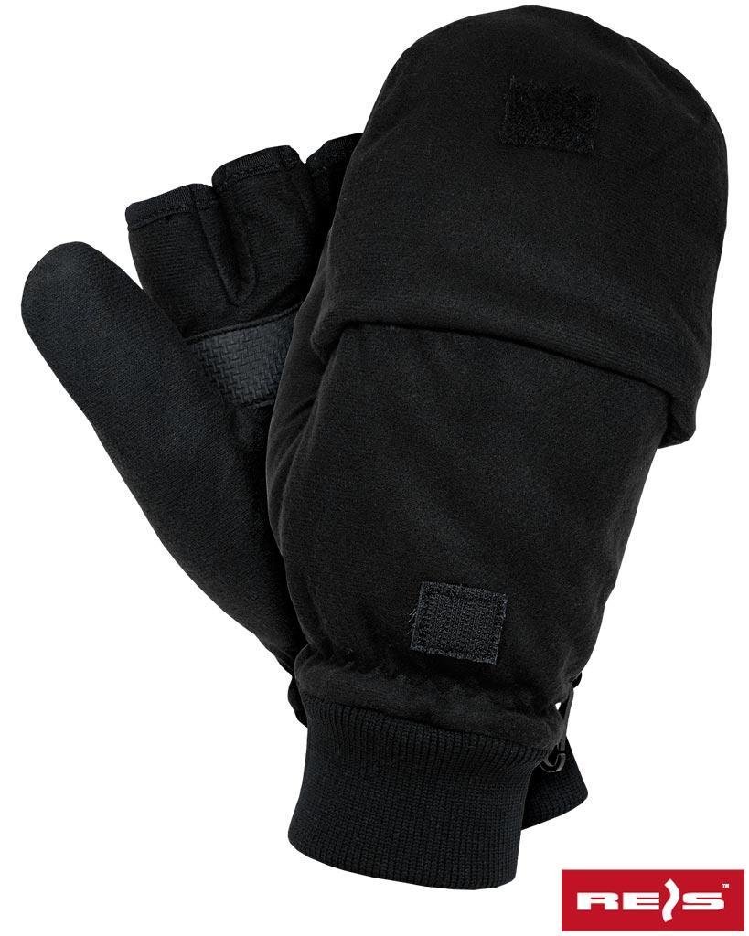 Перчатки рабочие утепленные REIS Польша RDROPO-BLACK B