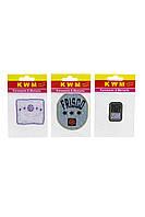 Набор аппликаций KWM 3 штуки 14х9 см Разноцветный K10-550261, КОД: 1791110