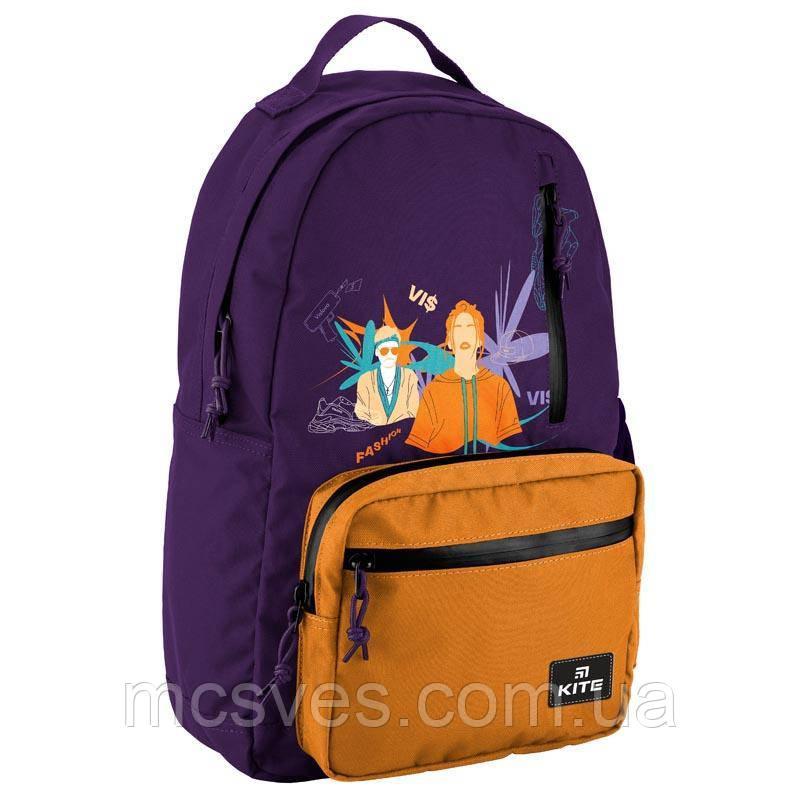Рюкзак VIS19-949L-1, ущільнена спинка, надійні замки, 1 відділення, 3 передні, 1 внутрішня кишеня для ноутбука