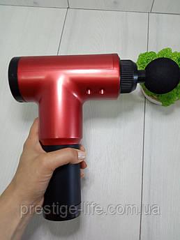 Портативный мышечный ручной массажер для тела Fascial Gun YX-908