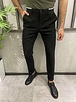 Мужские брюки черные 18807, фото 1