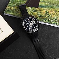 Наручные часы в стиле TAG Heuer Grand Carrera Calibre 36 RS Caliper Rubber All Black