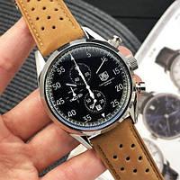 Наручные часы TAG Heuer Carrera 1887 SpaceX Chronograph Brown-Silver-Black