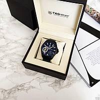 Наручные часы в стиле Tag Heuer Grand Carrera Pendulum All Black