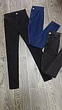 Джинсы женские скини с высокой посадкой,4цвета  Р-р.S, M, L Код 652Т, фото 3