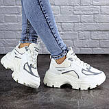 Женские кроссовки Fashion Mateo 2061 36 размер 22,5 см Белый, фото 3