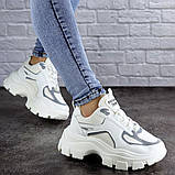Женские кроссовки Fashion Mateo 2061 36 размер 22,5 см Белый, фото 4