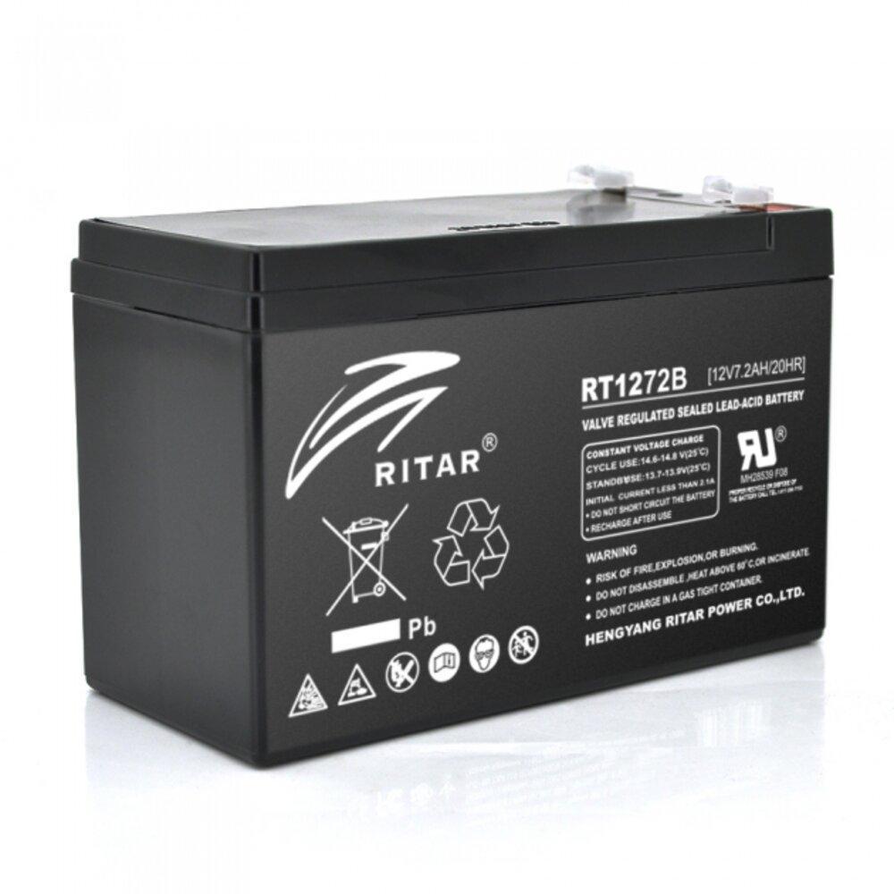Аккумуляторная батарея AGM Ritar RT1272B 12V 7.2Ah