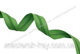 Молния спиральная метражная №5 цвет зеленый #150