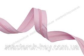 Молния спиральная метражная №5 цвет розовый #513