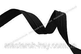 Молния спиральная метражная №5 цвет черный #580
