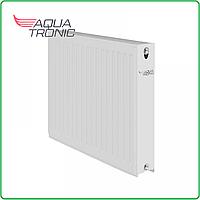 Стальной радиатор отопления 500х1000 тип 22 AquaTronic Боковое подключения