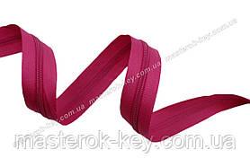 Молния спиральная метражная №5 цвет ярко розовый #649