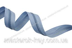 Молния спиральная метражная №5 цвет голубой #749