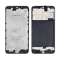 Дисплейная рамка для Samsung A105 Galaxy A10 (2019) чёрная