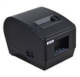 Принтер етикеток, термопринтер штрих кодів, QR кодів Xprinter XP-236B 60mm, фото 3