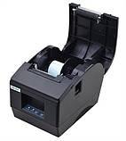 Принтер етикеток, термопринтер штрих кодів, QR кодів Xprinter XP-236B 60mm, фото 2