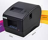 Принтер етикеток, термопринтер штрих кодів, QR кодів Xprinter XP-236B 60mm, фото 6