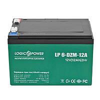 Тяговая аккумуляторная батарея AGM LogicPower LP 6-DZM-12 12V 12Ah