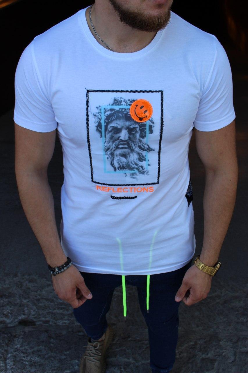 Мужская футболка Reflections white