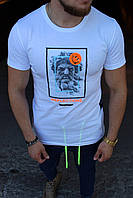 Мужская футболка Reflections white, фото 1
