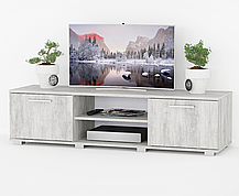 Тумбочка под телевизор, комод под ТВ с дверками K0012, фото 3