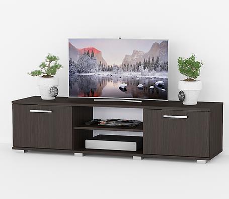 Тумбочка под телевизор, комод под ТВ с дверками K0012, фото 2