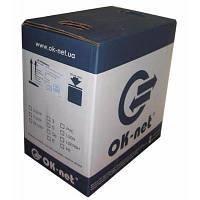 Кабель сетевой OK-Net UTP 500м 4 пары (КПВ-ВП (350) 4х2х0,51 / 500)