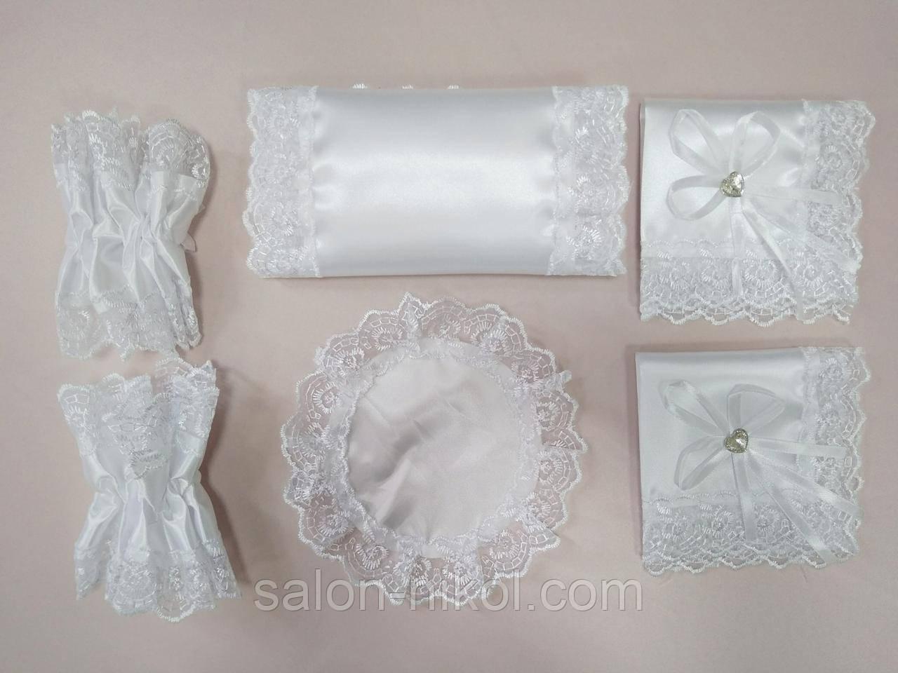 Набор для венчания белый. Венчальный набор