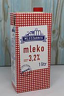 Молоко Mleczarnia Mleko 3.2% 1 л Польща