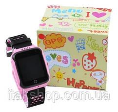 Детские умные часы Smart Baby Watch Q528 с GPS Pink, фото 2