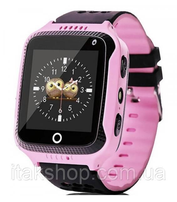 Детские умные часы Smart Baby Watch Q528 с GPS Pink